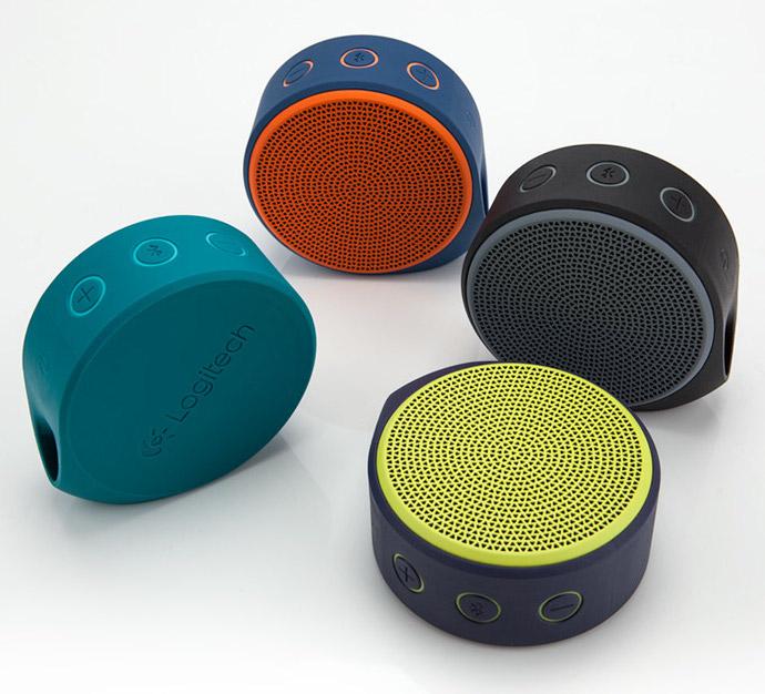 Logitech X100 Wireless Speakers 1