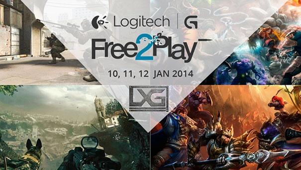 Logitech free 2 play LAN