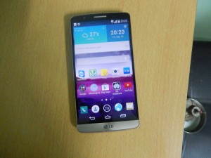 LG G3 Build Front