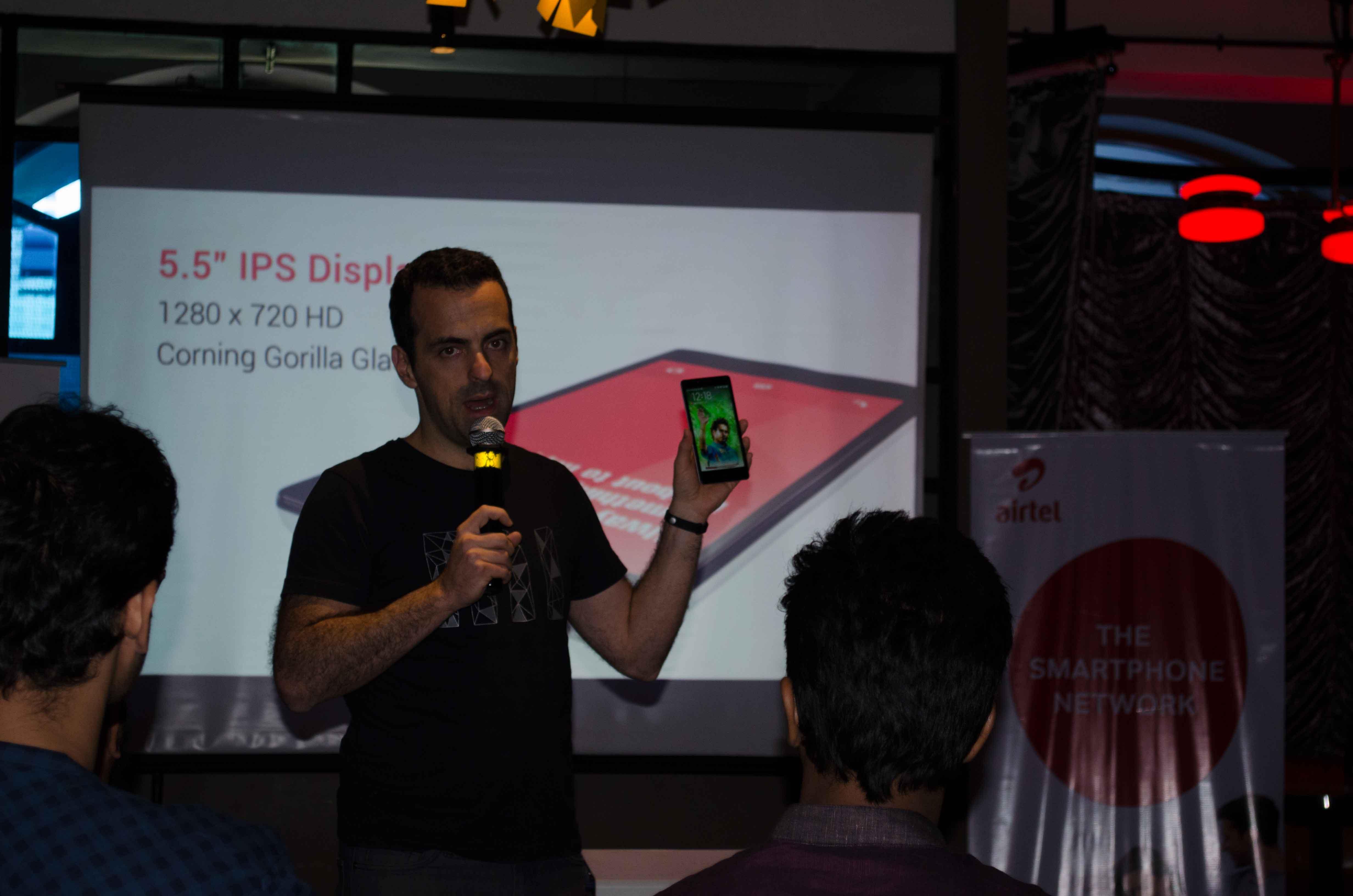Hugo Barra Launching Xiaomi Redmi Note 4G in Mumbai