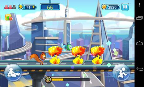 UC Crazy  run Screenshot