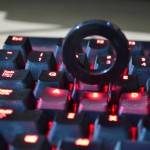 Corsair K70 Red Backlit red keys with key removal tool
