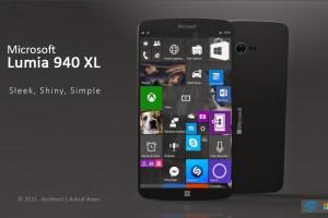 Microsoft Lumia 940 XL concept design