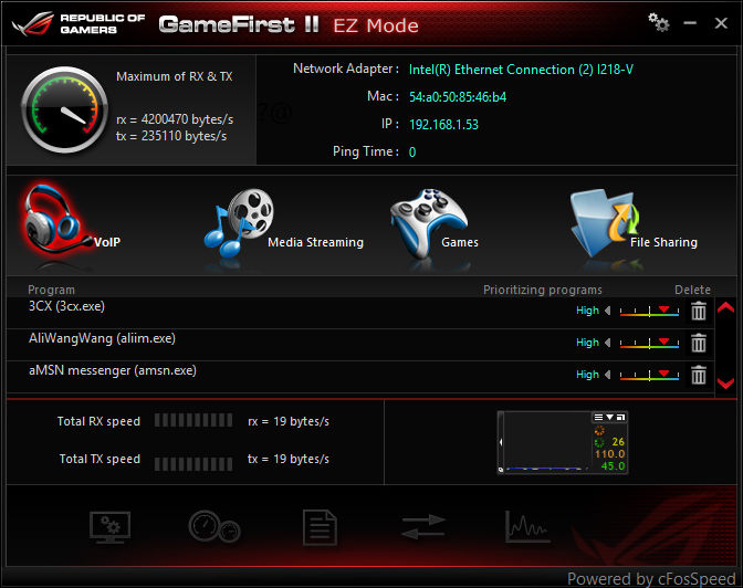 Asus Game First II