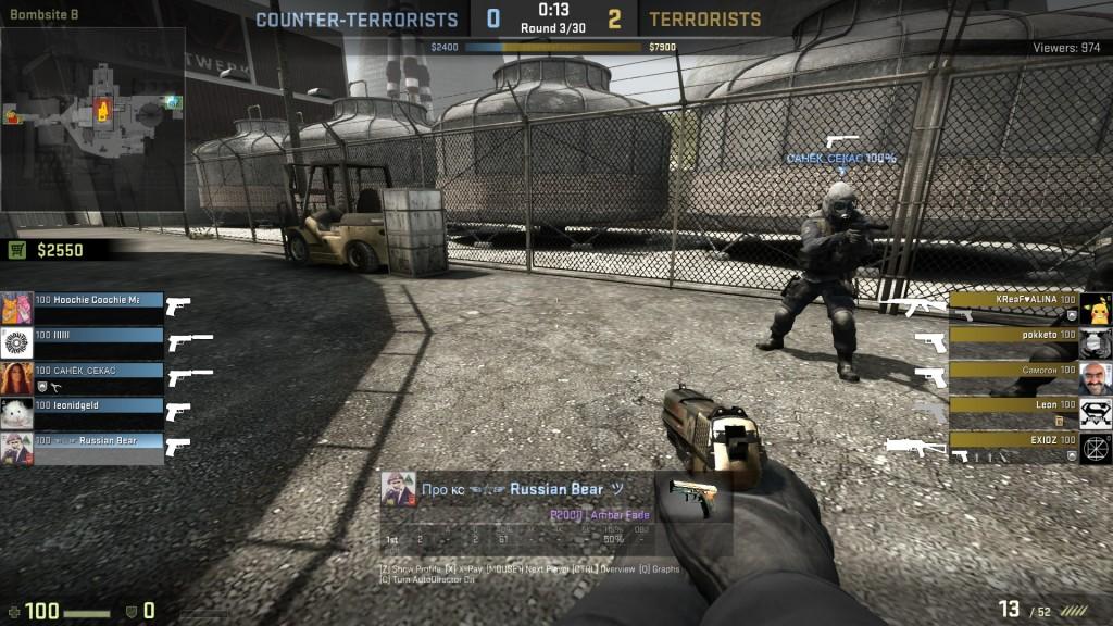 Couter Strike Global Offence Screenshot (MSI GTX 960 OC)