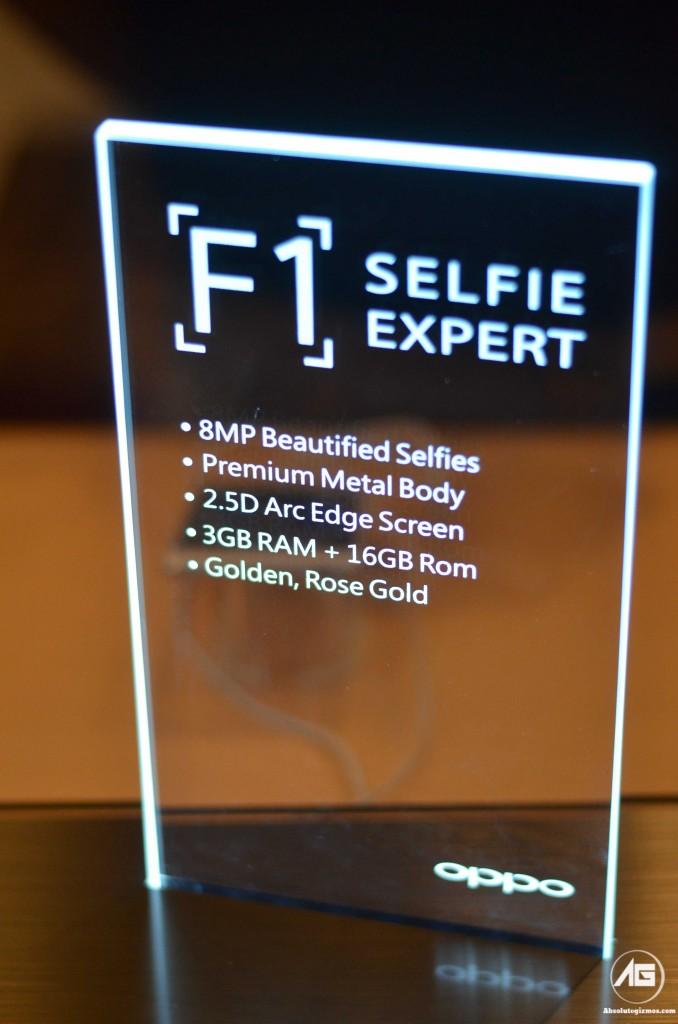Oppo F1 Selfie Expert Rear Specification
