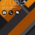 Asus Zenfone Zoom ZenUI Lock Screen