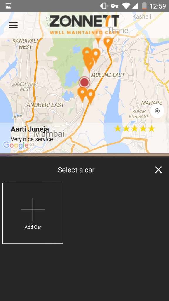 Zonnett App Screenshot
