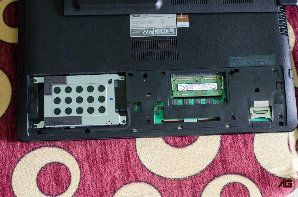 Asus R510J Internal Hardware