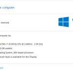 Asus R510J Laptop Specification