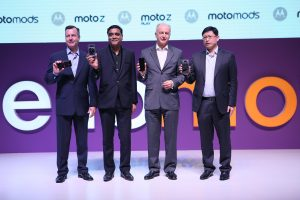 Moto Z and Moto Z play Launch