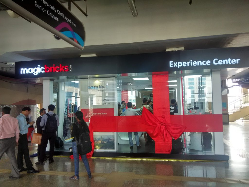 MagicBricks Experience Center at MagicBricks WEH metro station mumbai