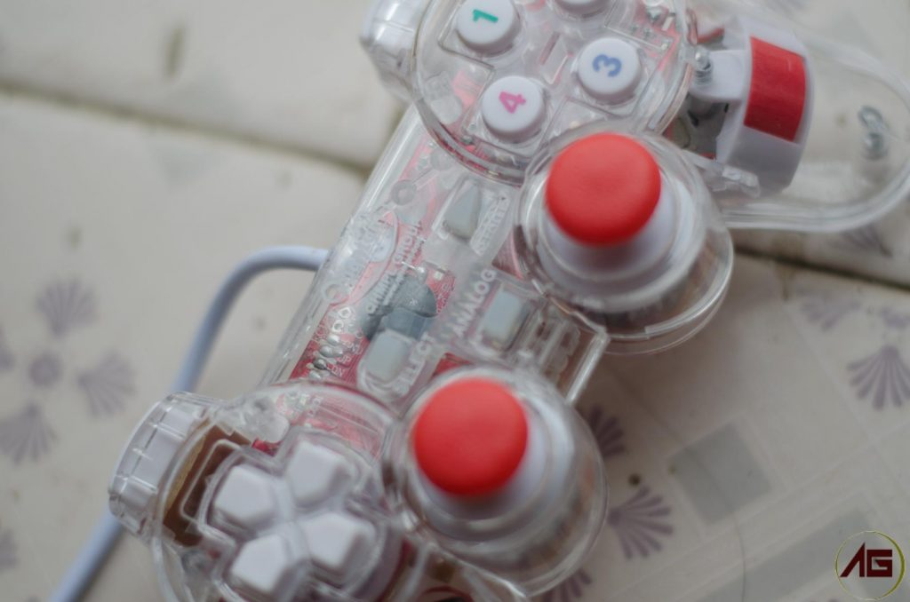 Quantum GamePad Mid Buttons