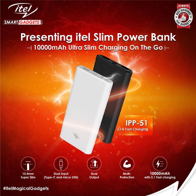 Itel Slim powerbank