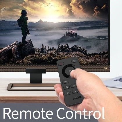 Easy Accessibility with Remote Control